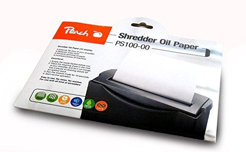 Peach Aktenvernichter Service Kit (Ölpapier), 12 tlg. / Die Beautypackung für Ihren Aktenvernichter
