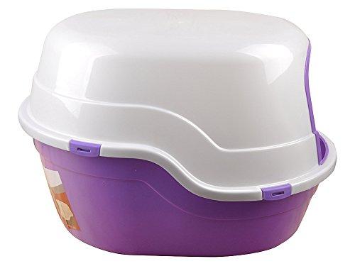 X-Large Jumbo Hooded Litter pan, lettiera per gatti con cupola box, 62,2x 47x 41,9cm