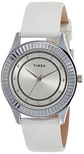 Timex Analog Silver Dial Women's Watch-TW00ZR278E