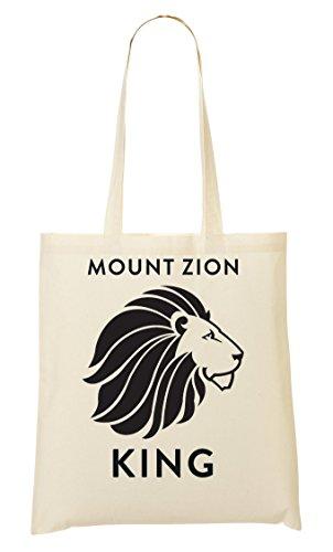 Mount Zion King Lion Of Judah Rasta Tragetasche Einkaufstasche