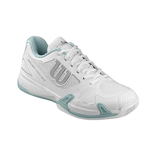 Wilson Damen Rush Pro 2.0 Clay Court W WH Tennisschuhe, Blanco, 40