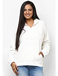 GRAIN Off White Color Regular fit Cotton Plain Jackets for Women