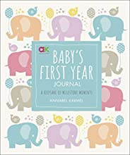 Baby's First Year Journal: A Keepsake of Milestone Moments (Baby Record Bo