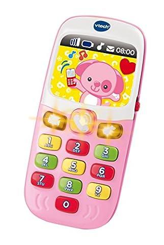Telephone Vtech - Vtech - 138165 - Baby Smartphone Bilingue