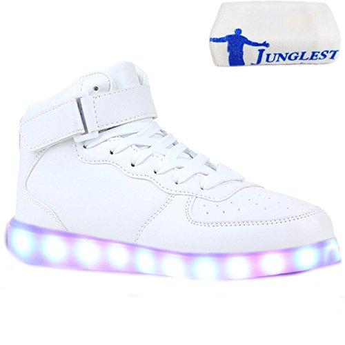 High Sneakers Led Weiß junglest® kleines Blinkende Damen M Handtuch present Pa7v4
