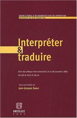 Interpréter et traduire