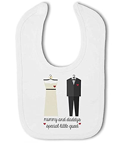 Mummy and Daddys Special Little Wedding Guest - Baby Bib