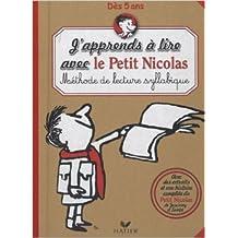 J'apprends à lire avec le Petit Nicolas : Méthode de lecture syllabique de Nicolas Toulliou,Pascale Boutry (Illustrations) ( 27 janvier 2010 )
