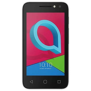 Alcatel U3 (4034X) UK Sim Free Volcano Black with 16GB Memory Card