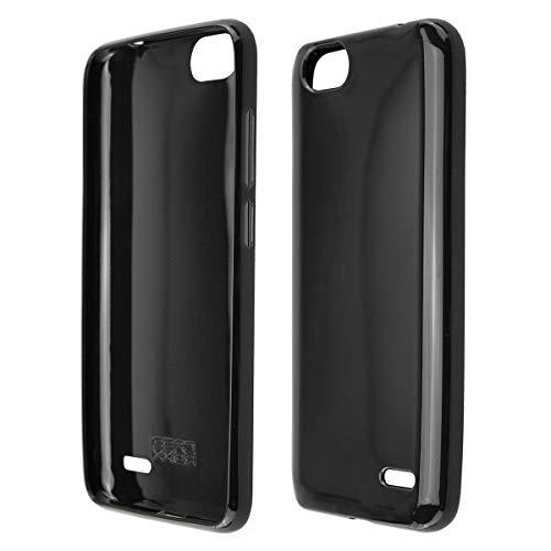 Coque pour Gigaset GS100, TPU-Housse Étui de Protection Antichoc pour Smartphone (Coque de Coloris Noir)