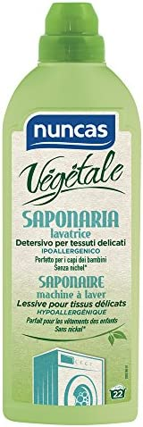 Nuncas Vegetale Saponaria Lavatrice, 22 Lavaggi, 1000ml