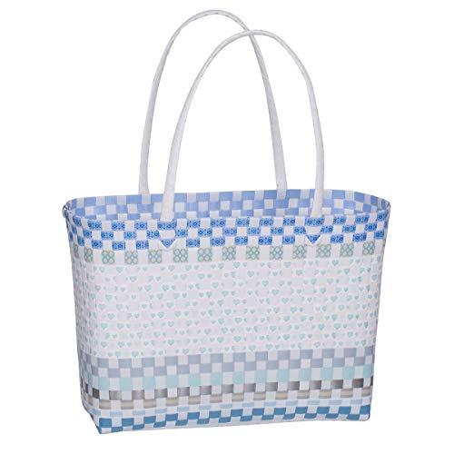 Overbeck and Friends - Markttasche Estelle blau - klein