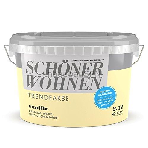 Schöner Wohnen Trendfarbe Vanilla 2,5 l seidenglänzend