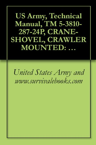 US Army, Technical Manual, TM 5-3810-287-24P, CRANE-SHOVEL, CRAWLER MOUNTED: DIESEL ENGINE DRIVEN, 12 1/2 TON CAPACITY, RATED WITH 3/4 CU YD (NSN 3810-00-937-3939) ... THEW-LORAIN MODEL L36M (English Edition) -