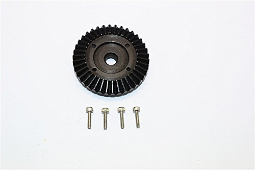 Axial SMT10 Grave Digger (AX90055) Tuning Teile Steel Ring Gear - 1Pc Set ()