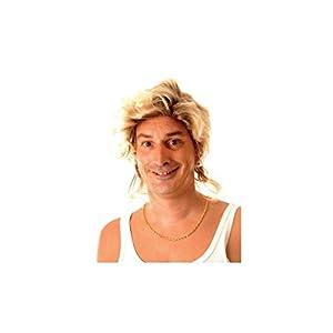 Party Pro-perruque, unisex adulto, 873646, de oro, talla única