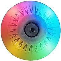 SPEEDEVE LED Ruedas para Patines en línea 90A (72mm/76mm/80 mm, 8 Unidades), Blanco/Rojo/Azul/Verde/Vistoso