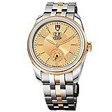 Tudor Glamour Double Date Herren-Armbanduhr Diamant 42mm Automatik M57003-BRCX