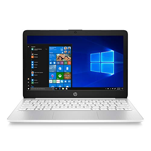 HP Stream PC Portable 11-ak1000nf 11'' HD SVA antireflet Blanc (Intel Atom x5-E8000, RAM 4 Go, stockage eMMC 32 Go, Windows 10, AZERTY)