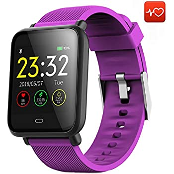 CanMixs Smart Watch CM07 Impermeable IP67 Actividad Fitness Tracker Reloj con monitor de ritmo cardíaco Podómetro Sleep Monitor Cronómetro SMS Notificación ...