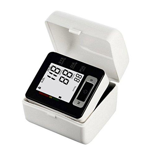 HRRH Intelligentes, medizinisch zertifiziertes Digitales Handgelenk Blutdruckmessgerät Herzfrequenzmessung IHB Indikator und Speichermessung Home Health Monitor Blutdruckmessgerät Messgerät -