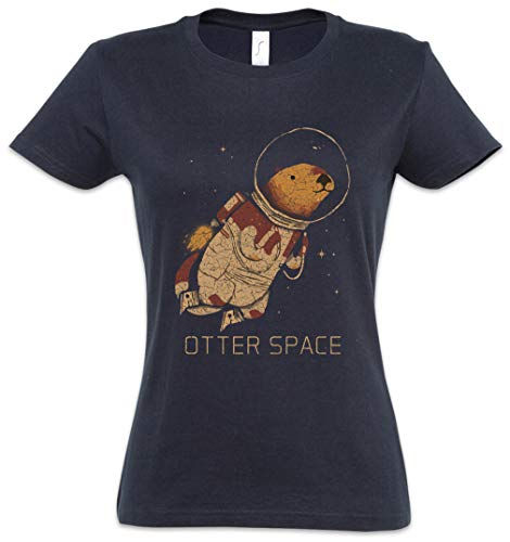 023fba668 The Mermaid Conviction Otter Space Mujer Girlie Women T-Shirt Tamaños XS -  2XL