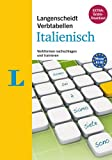 Langenscheidt Verbtabellen Italienisch - Inklusive Konjugationstrainer zum Download: Verbformen nachschlagen und trainieren