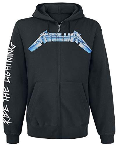 Metallica Ride The Lightning Kapuzenjacke schwarz L Ride Herren Pullover