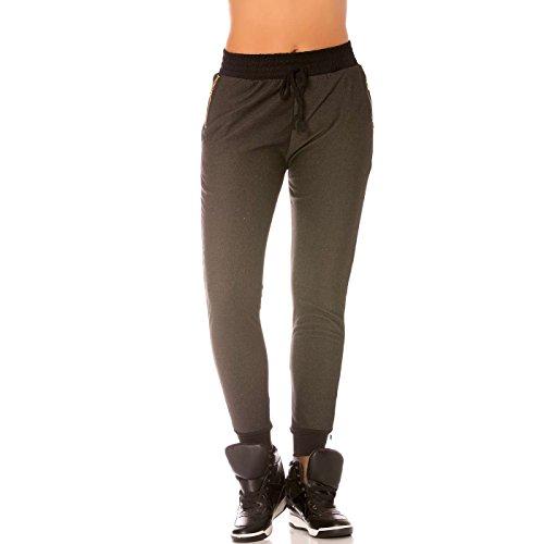 Miss Wear Line -  Pantaloni  - Donna nero (Pantaloni Misses Lino)