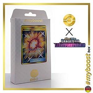 Bestienring (Anillo Ente) 141/131 Entrenadore Secreta - #myboost X Sonne & Mond 6 Grauen Der Lichtfinsternis - Box de 10 Cartas Pokémon Aleman