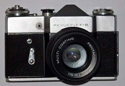 Fototechnik von LLL REVUEFLEX B - wie Zenit B - 35 mm Spiegelreflexkamera inkl. Objektiv PENTACON MC Auto 1.8/50 - Kamera löst aus -