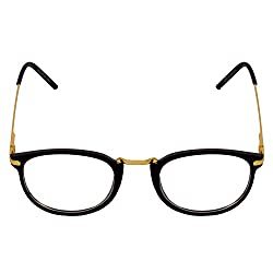 Criba Gold Spring Clear Unisex Spectacle Frame and Sunglass - CL 2036