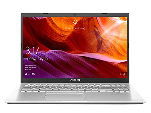 ASUS VivoBook 15 M509DA-EJ561T AMD Quad Core Ryzen 5-3500U 15.6-inch FHD Thin and Light Laptop (4GB RAM/256GB NVMe SSD/Windows 10/Integrated Graphics/1.9 kg), Transparent Silver