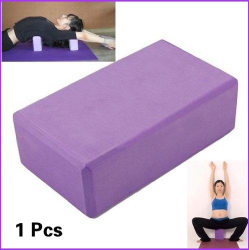 Brique Bloc de Yoga en Mousse Légère Exercices Relaxation Fitness GYMNASTIQUE