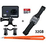 NEUE ActionPro X8 Bike EDITION + 32GB SanDisk Card - 4K Actioncamera