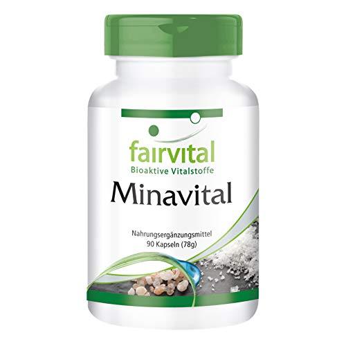ERT - VEGAN - 90 Kapseln - Multimineral mit essentiellen Mineralstoffen und Spurenelementen ()