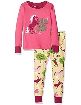 Hatley Mädchen Long Sleeve Appliqué Pyjama Sets