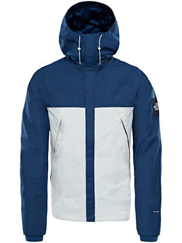 The North Face blue wing teal-vintage white