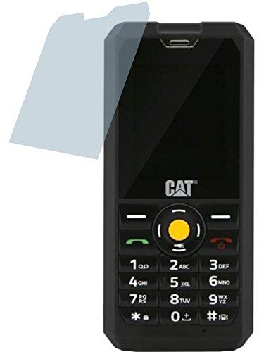 Caterpillar Cat B30 (2 Stück) PREMIUM Displayschutzfolie Bildschirmschutzfolie ANTIREFLEX Schutzhülle Displayschutz Displayfolie Folie