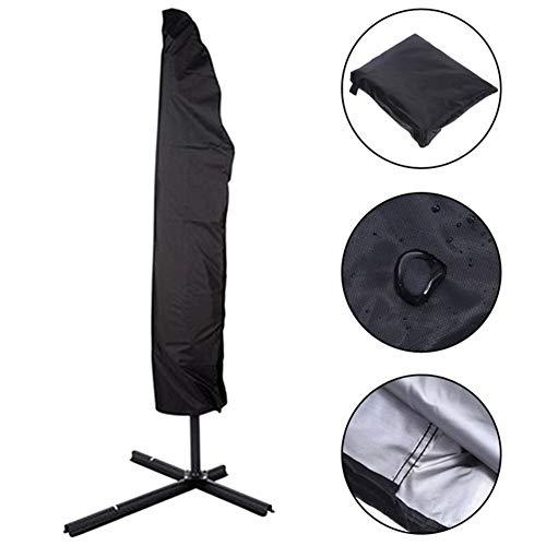 Hohe Patio Tisch (Möbel abdeckung Patio-Regenschirm-Abdeckung Im Freien, wasserdichte Regenschirm-Abdeckungen Mit Reißverschluss - Schwarzes (Size : 30x81x45cm))