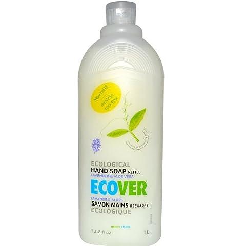 Ecological Hand Soap Refill, Lavender & Aloe Vera, 33.8 fl oz (1 L) by Ecover