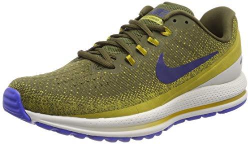 Nike Air Zoom Vomero 13, Scarpe Running Uomo, Verde Oliva/Blu/Beige Grigiastro (Olive Canvas/Blue Void/Peat Moss 343), 41 EU