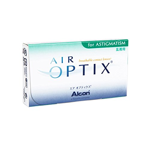 Air Optix for Astigmatism Monatslinsen weich, 6 Stück / BC 8.7 mm / DIA 14.5 mm / CYL -0.75 / ACHSE 180 / + 4.5 Dioptrien