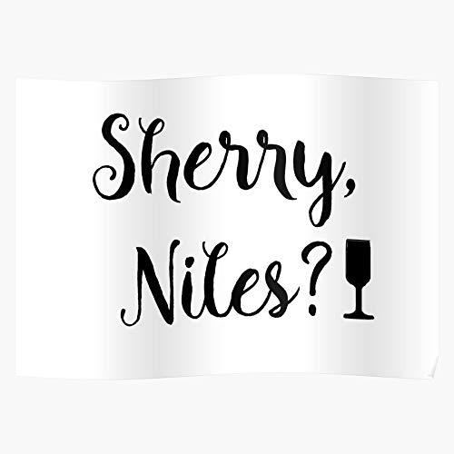 Sherry Niles Frasier Poster Matching Family Meistverkaufte Wandkunst Wohnkultur Showtime Geschenk Poster