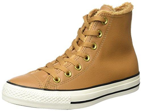 Converse Unisex-Erwachsene CTAS Hi Chipmunk/Egret Hohe Sneaker, Braun (Chipmunk), 40 EU (Sneakers Converse Tragen)