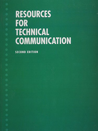 Resources for Technical Communication (Valuepack item only)