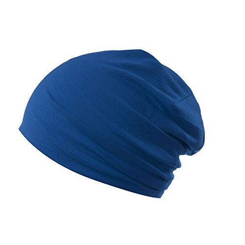 AlphaRoyal | Fitness Beanie | Unisex | Jersey | verschiedene Farben (Blau)