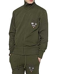 Aeronautica Militare Veste Sweat à Capuche FULL ZIP POCKET, Couleur: Camouflage, Taille: XXL