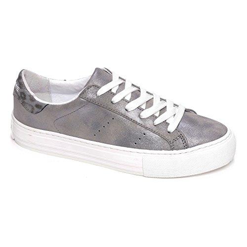 No Name ,  Sneaker donna, argento (acciaio), 39