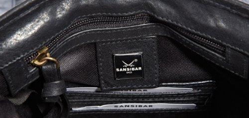 Sansibar  Bayamo, sac bandoulière femme Noir - Schwarz (black)